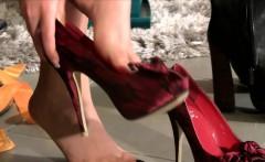 Euro feet wear new shoes