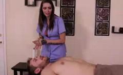 dominant babe denies his orgasm again and again