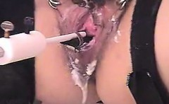 my slave fucked with a Hairbrush