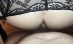 Squirting MILF fucked in the ass like a doggy