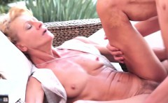Fit Granny Hungry Oral Job