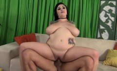 Plumper slut Scarlet LaVey gets fucked hard