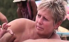 Swingers at the Nudist Beach - Pussy from MILF-MEET.COM