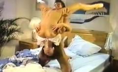 Dana Lynn, Nina Hartley, Ray Victory in classic sex clip