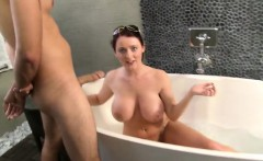 curvy sophie dee fucks in the bathtub