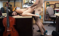Brazilian fucked in standing position