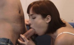 Tina H takes favorite dick in mouth and pussy