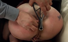 BDSM hardcore action with ropes and extreme sexing