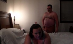 BBW gets creampied and then pussy eaten