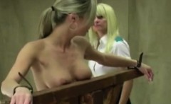 Blonde Slave Strung Up And Whipped
