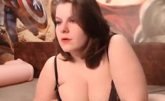 Large And Busty Beauty Teasing