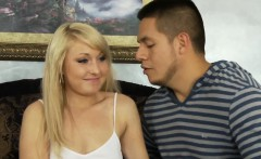Busty milf pussyfucked with teen babe