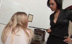 Teacher ass spanking blonde lesbian