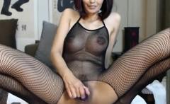 Webcam toying with horny milf cum