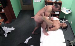 Doctor fucks his old brunette friend