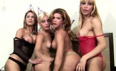 FULL leaked 40min Wild Shemale Orgies party hardcore video