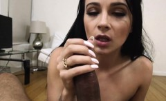 Young enticing sexy chick Dallas Black takes a hot steaming