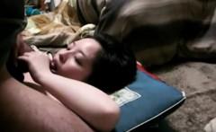 thai nympho girl takes a facial