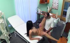 Fake doctor seduces gorgeous nurse with oral