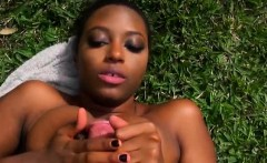 Stacked Black Ex Girlfriend Sucking Dick And Fucked POV