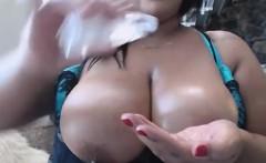 big oily tits amateur