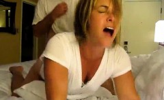 Heavy blond MILF cougar obtaining cock that is great