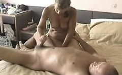 Custom short handjob by couple that is adult