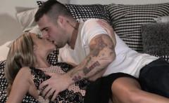 DaneJones Cute blonde gets romantic creampie from her lover