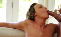 Brunette Alexis Adams Mounted Fuck And Facial On Table
