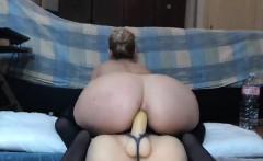 Cute Babe Fucking Toy on Webcam