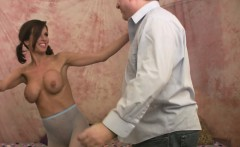 Adrenalizing senorita lets the guy touch her cunny