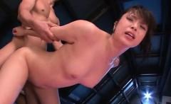 Hazuki Okita Endures Dicks In Each Of Her Nice Holes