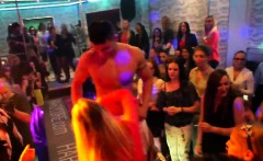 kinky girls get totally wild and nude at hardcore party