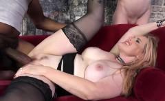 Slut gets bbc creampie