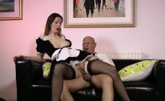 Heels older maid creampie