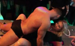 Flirty kittens get fully foolish and nude at hardcore party