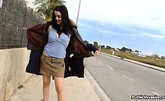 Claudia loves to fuck Outdoor! pi11527