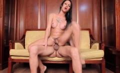 Ladyboy beauty assrailed with big cock
