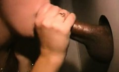 cock hungry brunette bitch enjoys large black penis in her