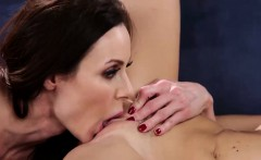 Kendra Lust begins licking Kimmy Grangers shaved pussy