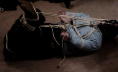 Cowboy boots, Hogtied