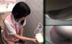 Uniform asian urinates