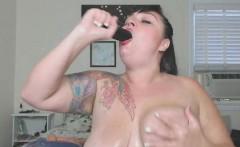 Bizarre Hardcore Dildo Gagging And Fucking
