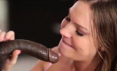 Brunette Tiff Banister loves black cock fucking her good