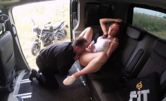 fucked in traffic hot brunette czech fucked in the car
