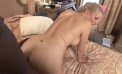 Blonde MILF Kara Knox love taking black cock