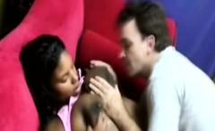 Pregnant Black Babe Fucking Big White Dong Interracial