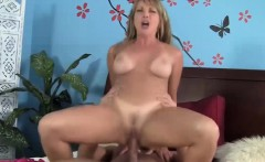 Stepmom wishes a dick deep inside her