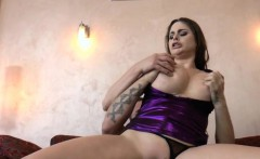 Spunky whore squirting