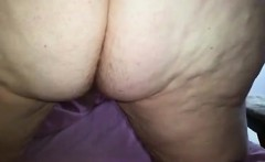 Wifes Big Vagina and White Furry Ass-Crack